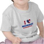 I Love Monroe, Georgia Tshirts
