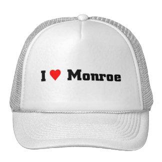 I love Monroe Trucker Hat