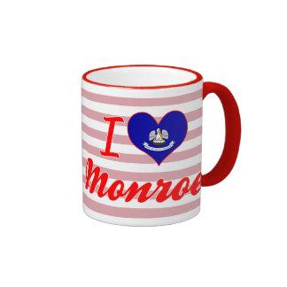 I Love Monroe, Louisiana Mug