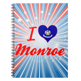 I Love Monroe, Louisiana Note Book