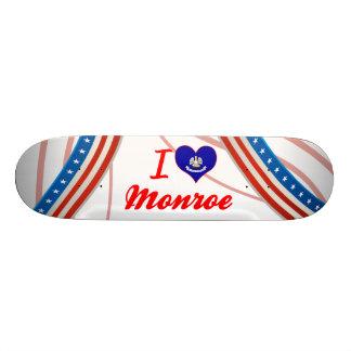 I Love Monroe, Louisiana Skate Decks