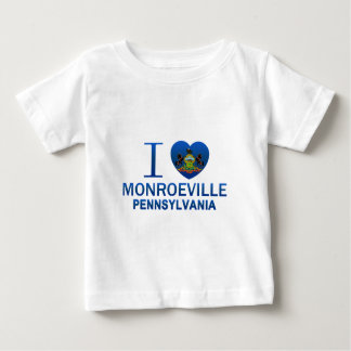 I Love Monroeville, PA Baby T-Shirt