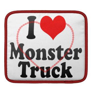 I love Monster Truck iPad Sleeve