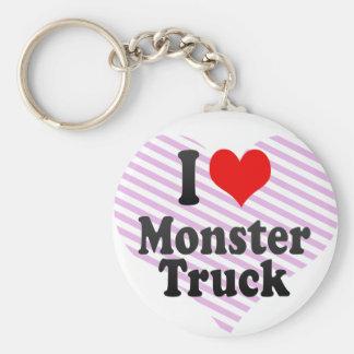 I love Monster Truck Key Chains