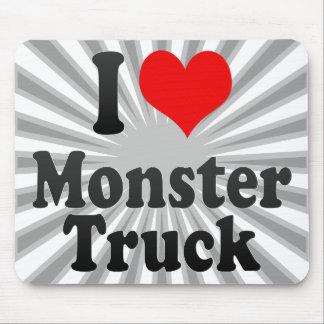 I love Monster Truck Mousepad