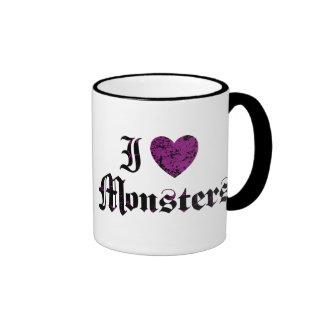 I Love Monsters Mug