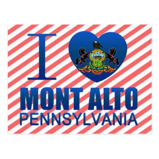 I Love Mont Alto, PA Postcard