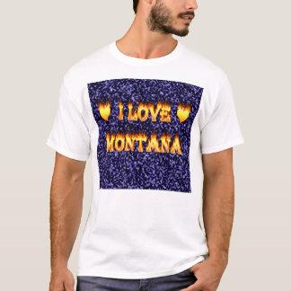I love montana fire and flames T-Shirt