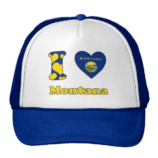I love Montana Trucker Hat