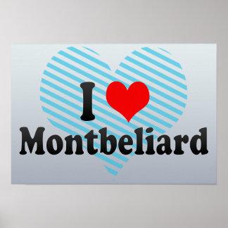 I Love Montbeliard, France Poster