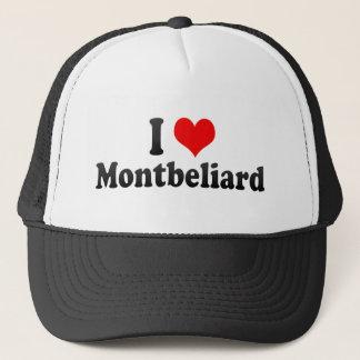 I Love Montbeliard, France Trucker Hat