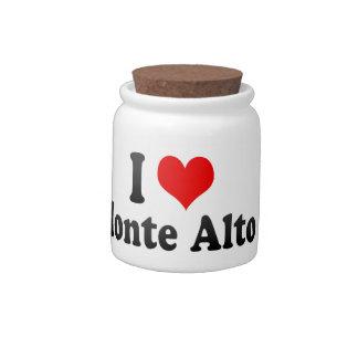 I Love Monte Alto, Brazil Candy Jar