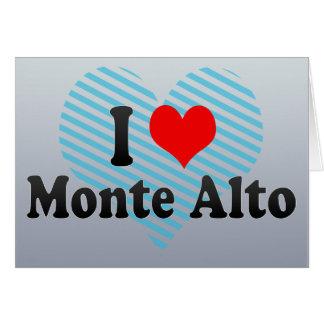 I Love Monte Alto, Brazil Cards