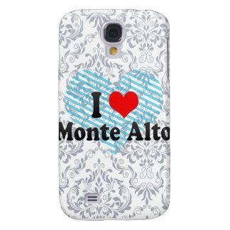 I Love Monte Alto, Brazil Samsung Galaxy S4 Covers