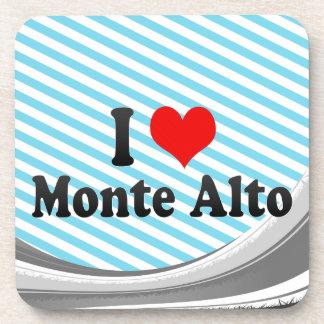 I Love Monte Alto, Brazil Drink Coaster
