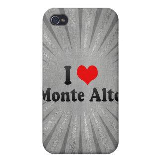 I Love Monte Alto, Brazil iPhone 4/4S Cases
