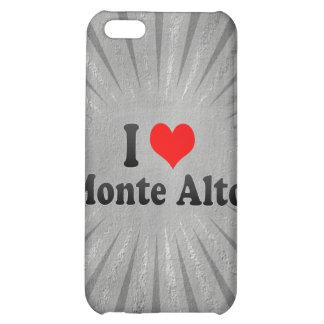 I Love Monte Alto, Brazil iPhone 5C Cover