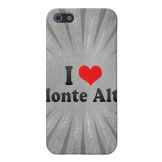 I Love Monte Alto, Brazil Covers For iPhone 5