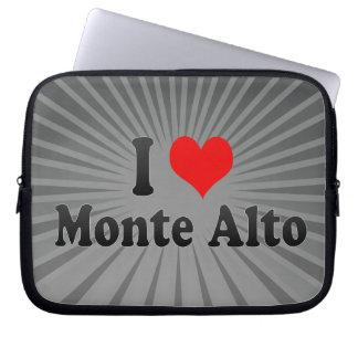 I Love Monte Alto, Brazil Laptop Computer Sleeves