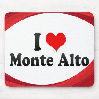 I Love Monte Alto, Brazil Mousepads