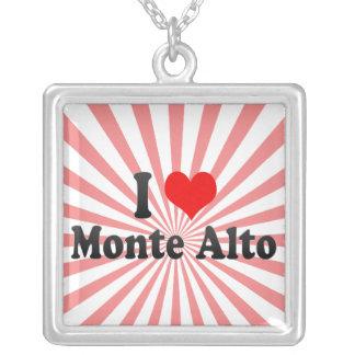 I Love Monte Alto, Brazil Custom Necklace