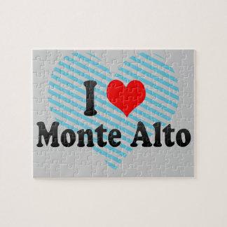 I Love Monte Alto, Brazil Puzzle