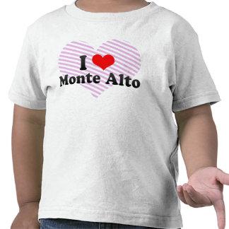 I Love Monte Alto, Brazil Tees