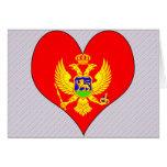 I Love Montenegro Greeting Card