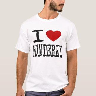 i Love Monterey, Ca -- T-Shirt