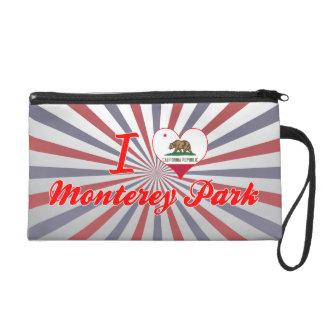 I Love Monterey Park California Wristlet Purses