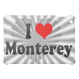 I Love Monterey, United States Case For The iPad Mini