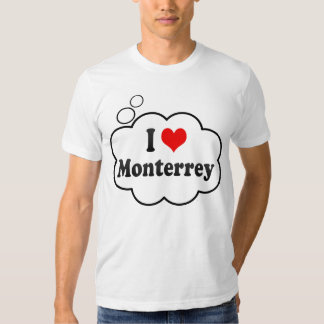 I Love Monterrey, Mexico T-Shirt