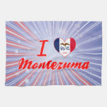 I Love Montezuma, Iowa Towels
