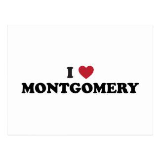 I Love Montgomery Alabama Postcards