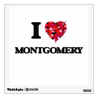 I love Montgomery New Jersey Room Decal