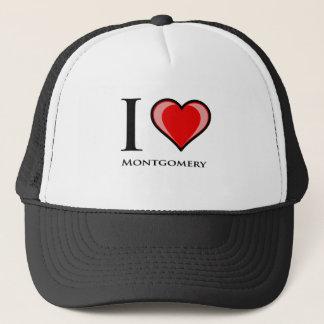 I Love Montgomery Trucker Hat