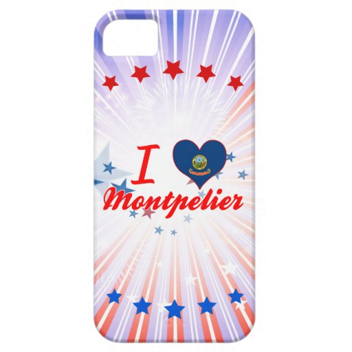 I Love Montpelier, Idaho iPhone 5/5S Cover