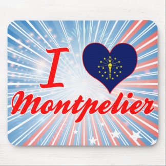 I Love Montpelier, Indiana Mouse Pads