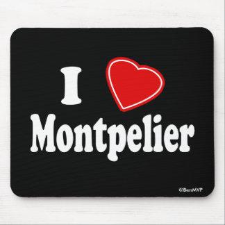 I Love Montpelier Mousepad