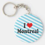 I Love Montreal, Canada. I Love Montreal, Canada Key Chain