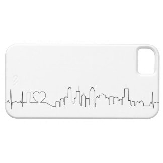 I love Montréal in an extraordinary ecg style iPhone SE/5/5s Case