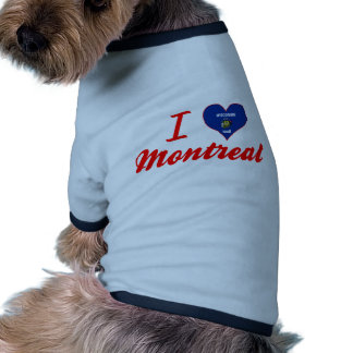 I Love Montreal, Wisconsin Pet Clothing