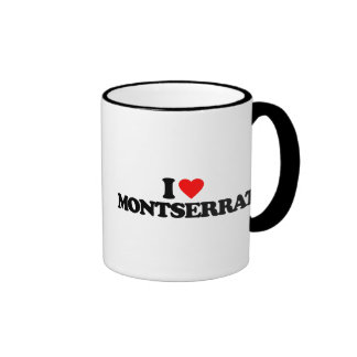 I LOVE MONTSERRAT COFFEE MUG