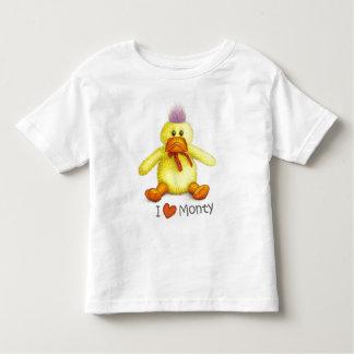 """I love Monty"" t-shirt"