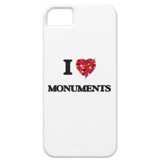 I Love Monuments iPhone 5 Cover