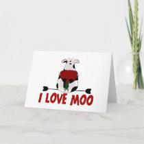 I Love Moo Card