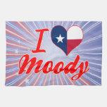 I Love Moody, Texas Towels