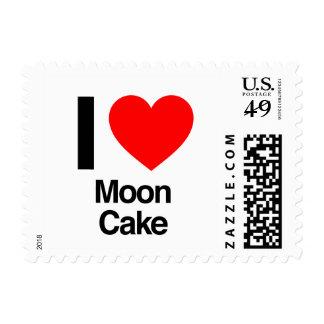 i love moon cake postage