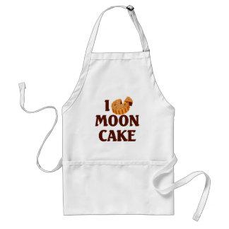 I Love Mooncake Adult Apron