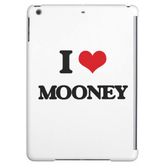 I Love Mooney Cover For iPad Air